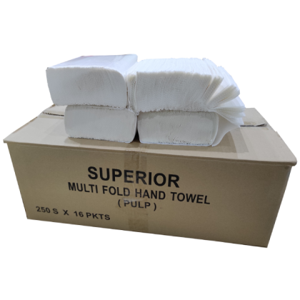 Interfold Hand Towel -HAND TOWEL